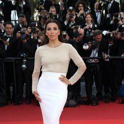 Eva Longoria en la apertura del Festival de Cannes 2016