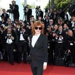 Susan Sarandon en la apertura del Festival de Cannes 2016