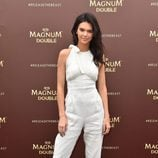 Kendall Jenner ejerciendo de embajadora de Magnum en el Festival de Cannes 2016