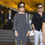 Kris Jenner en su hotel de Cannes durante el Festival de Cannes 2016