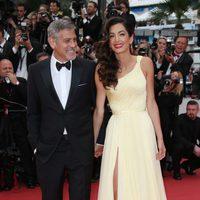 George Clooney y Amal Alamuddin en el Festival de Cannes 2016