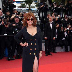 Susan Sarandon en el Festival de Cannes 2016