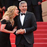 Julia Roberts y George Clooney en el Festival de Cannes 2016