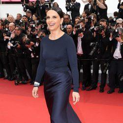 Juliette Binoche en el estreno de Slack Bay en el Festival de Cannes 2016