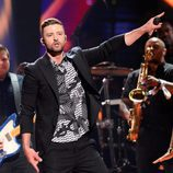 Justin Timberlake entregado actuando en el Dress Rehearsal del Festival de Eurovisión 2016