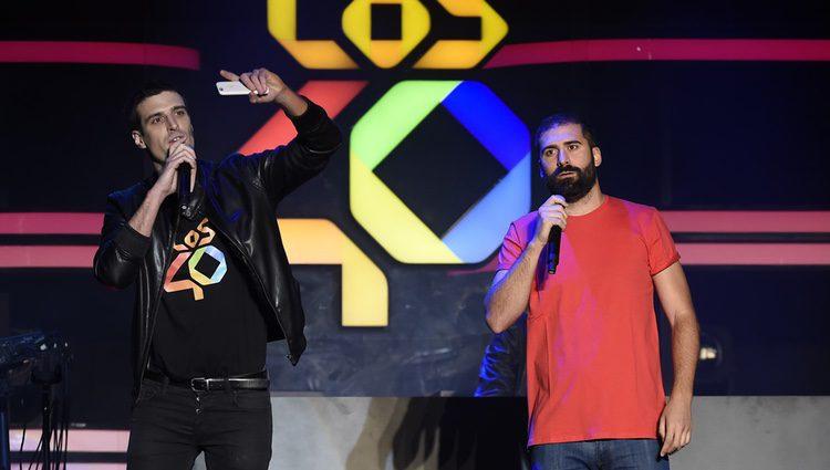 Uri Sabat y Jorge Cremades en el festival Primavera Pop 2016