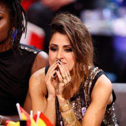 Barei muy nerviosa durante las votaciones de Eurovisión 2016