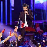 Amir Haddad, representante de Francia en Eurovision 2016