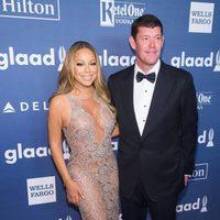 Mariah Carey y James Packer  en GLAAD Media Awards 2016
