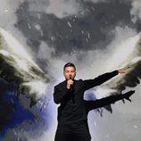 Sergey Lazarev, representante de Rusia durante su actuación en Eurovision 2016