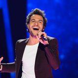 Amir Haddad, representante de Francia durante su actuación Eurovision 2016