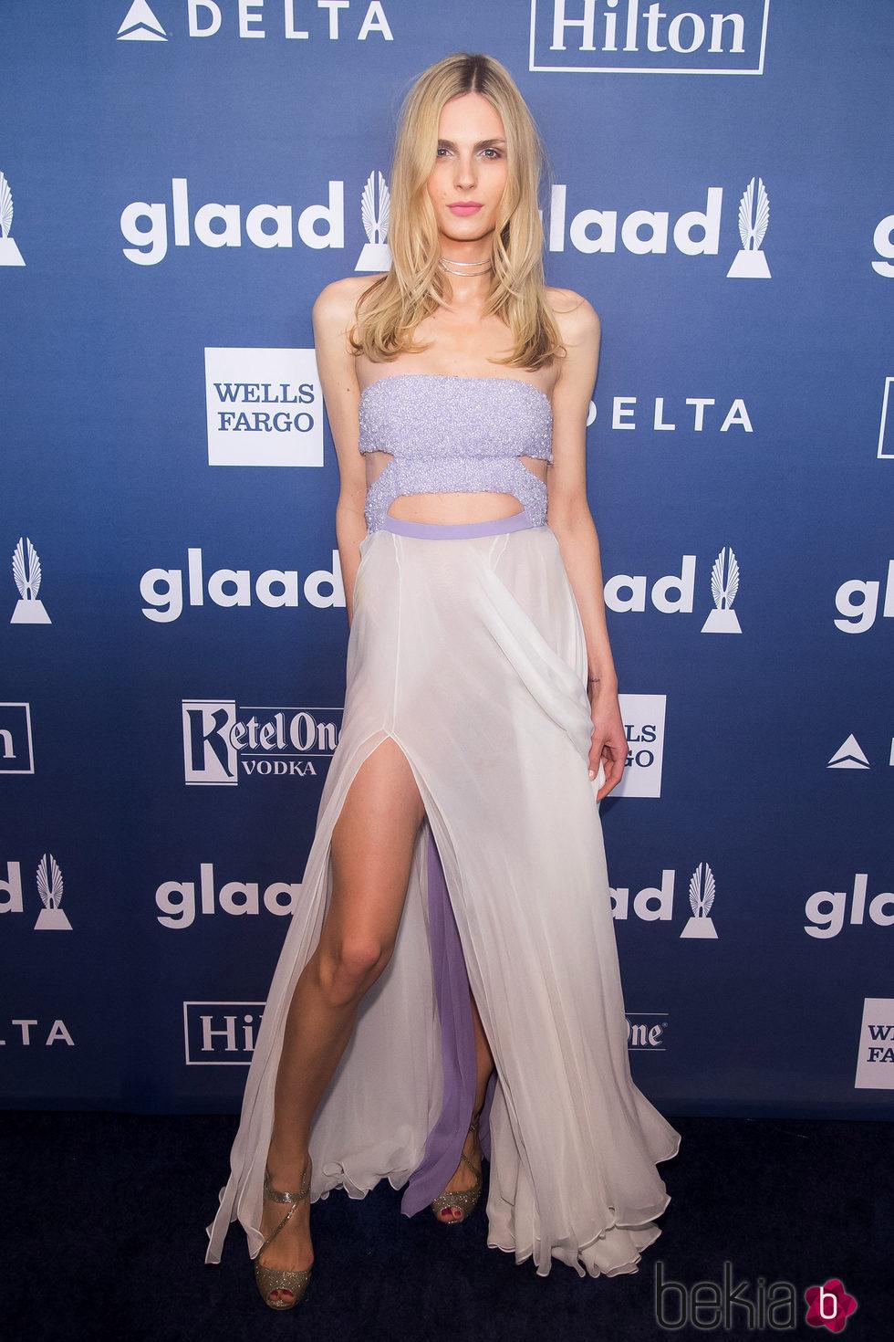 Andreja Pejic en GLAAD Media Awards 2016