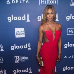 Laverne Cox en GLAAD Media Awards 2016