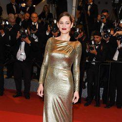 Marion Cotillard en el estreno de 'Mal De Pierres' en Cannes 2016