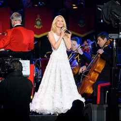 Kylie Minogue actuando en el Royal Windsor Horse Show 2016