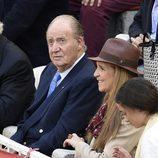 El Rey Juan Carlos y la Infanta Elena en la corrida de San Isidro 2016