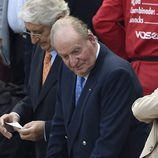 El Rey Juan Carlos en la corrida de San Isidro 2016