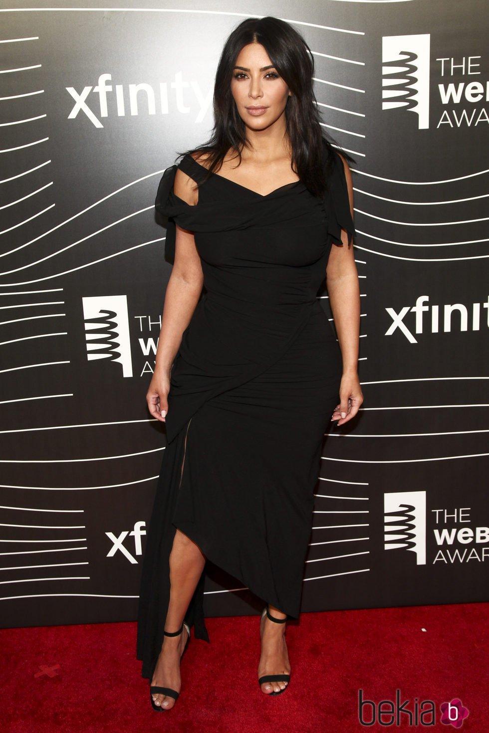 Kim Kardashian en los premios Webby Awards 2016
