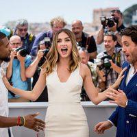 Ana de Armas, Usher y Edgar Ramírez en el Festival de Cannes 2016
