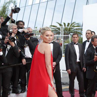 Kate Moss en el estreno de 'Loving' en el Festival de Cannes 2016