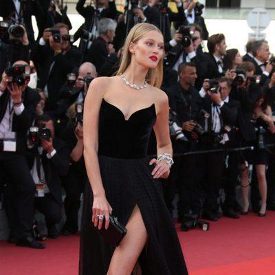 Toni Garrn en el estreno de 'Loving' en el Festival de Cannes 2016