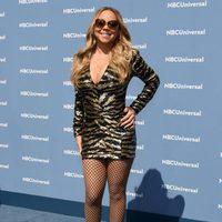 Mariah Carey en la presentación de la nueva temporada de la NBCUniversal 2016