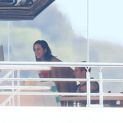 Katy Perry y Orlando Bloom a bordo de un yate en Cannes 2016