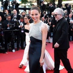 Michelle Jenner en la alfombra roja de 'Julieta' en el Festival de Cannes 2016