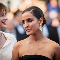 Inma Cuesta en la alfombra roja de 'Julieta' en el Festival de Cannes 2016