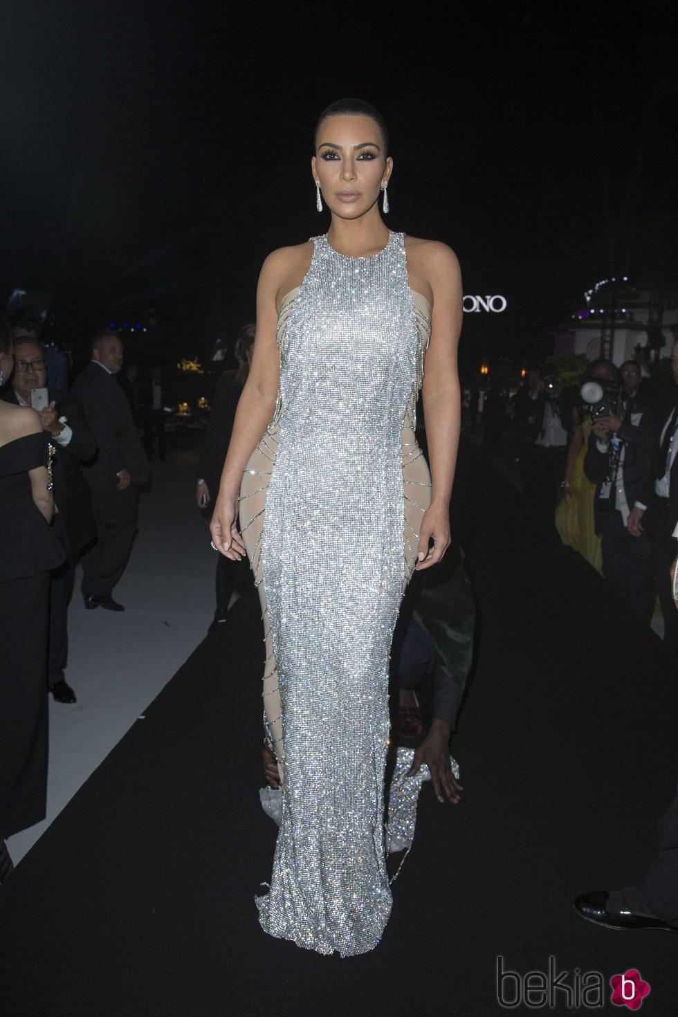 Kim Kardashian en la fiesta de Grisogono en el Festival de Cannes 2016