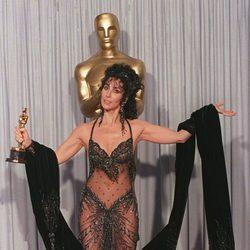 Cher en los Premios Oscar 1988