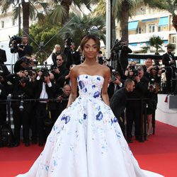 Jourdan Dunn en la premiere 'The Unknown girl' en el Festival de Cannes 2016