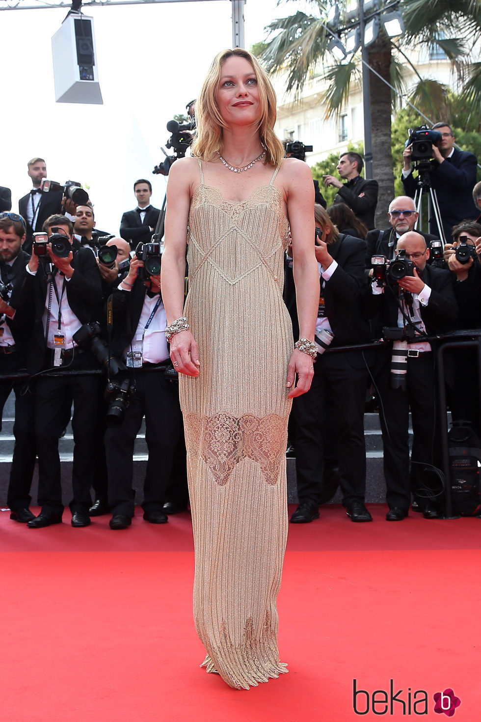 Vanessa Paradis en la premiere 'The Unknown girl' en el Festival de Cannes 2016
