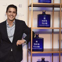 Álex González posa como embajador de Haig Club en Madrid