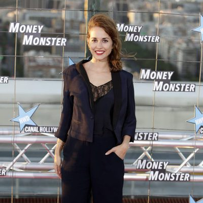 Silvia Alonso en el estreno de 'Money Monster' en Madrid