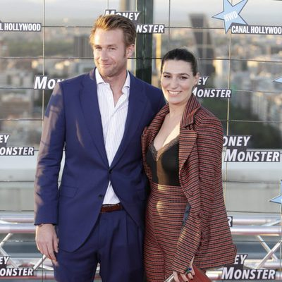 Eugenia Ortiz y Juan Melgarejo en el estreno de 'Money Monster' en Madrid