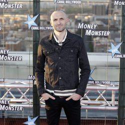 Julián Villagrán en el estreno de 'Money Monster' en Madrid