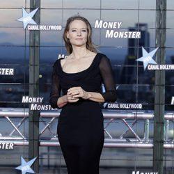 Jodie Foster en el estreno de 'Money Monster' en Madrid