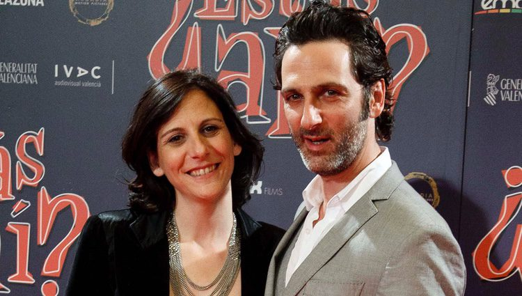Malena y Ernesto Alterio en la Premiere de '¿Estas Ahí?'