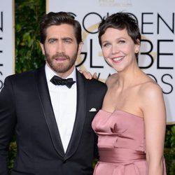 Jake y Maggie Gyllenhaal en los Globos de Oro 2015