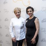 Llum Barrera y Susi Diaz en una cena saludable organizada por Campofrío