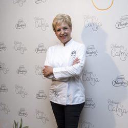 Susi Diaz en una cena saludable organizada por Campofrío