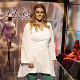 Carlota Corredera desfilando en la Sálvame Fashion Week
