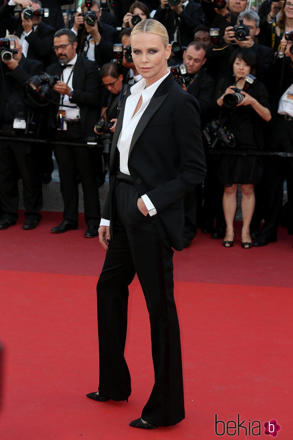 Charlize Theron en el estreno de 'The last face' en Cannes 2016