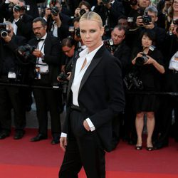 Charlize Theron en el estreno de 'The last face' en Cannes 2016