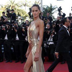 Izabel Goulart en el estreno de 'The last face' en Cannes 2016
