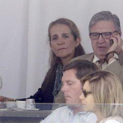 La Infanta Elena y Carlos García Revenga en el CSI5 de Madrid 2016