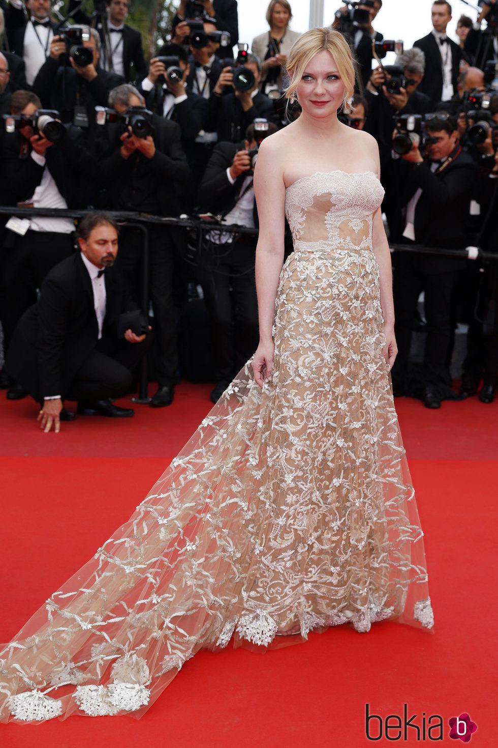 Kirsten Dunst en la clausura del Festival de Cannes 2016