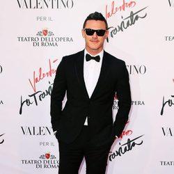Luke Evans en el estreno de 'La Traviata'  en Roma