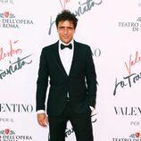 Adriano Giannini en el estreno de 'La Traviata'  en Roma